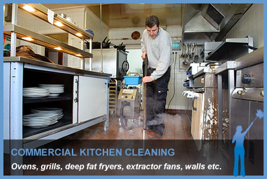 Commercial Kitchen Steam Cleaning South West Specialist
